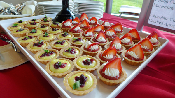 Desserts at the Dejope reception